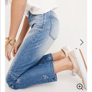 Madewell Perfect Summer Jean Daisy Edition 2088